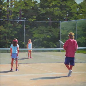 Tennis Lesson, 2016