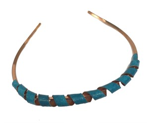 Necklace - Handpainted Paper Collar