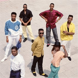 88081 Kool and the Gang Group Standing Color, 1988