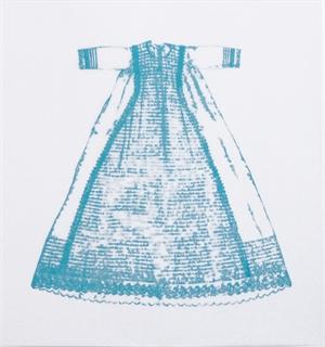 Christening Gown 1 (aqua), 2019