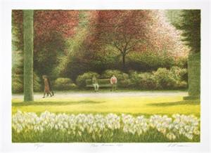 Parc Monceau by Harold Altman