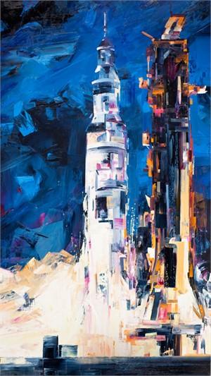Untitled (Rocket), 2011