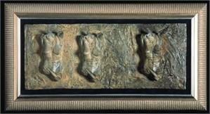 Female Fragment, Triptych (0/25)