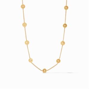 Poppy Delicate Station Necklace  , 2020