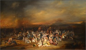 Attributed to Noel Dieudonne Finart - The Deportation of the Jews to Babylon