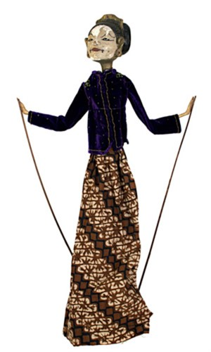 Golek Puppet (female), c1900