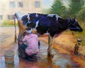 "TODD L CARIGNAN, ""Fresh Milk for the Orphan Girls"""
