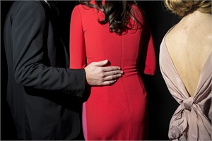 Lady in the Red Dress (at the Frick Young Fellows Ball) (1/10), 2014