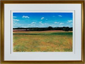 Summer Fields Near Dijon, 1999
