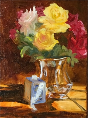 Silver and Roses by Diane Musgrove