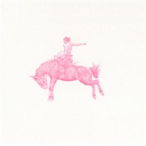 Untitled (bronc rider #2322), 2018