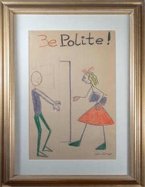Be Polite!, c.1950