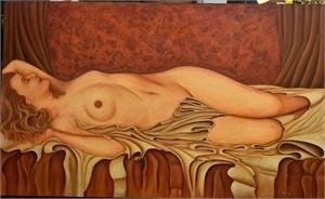 Reclining Nude, 2019
