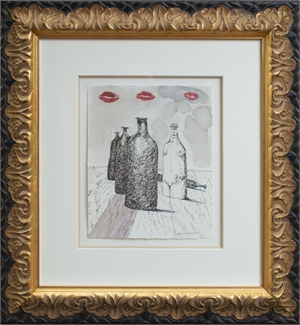 Homage to Rene Magritte II, 2007