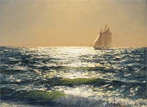 Plein Air, Ocean Sunlight