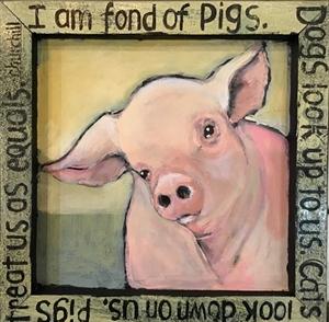 I am fond of pigs, 2020