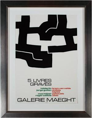 Galerie Maeght - 5 Livres Graves, 1973-1974