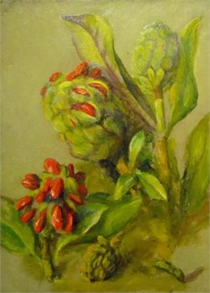 Untitled (Magnolia Seeds), c. 1930