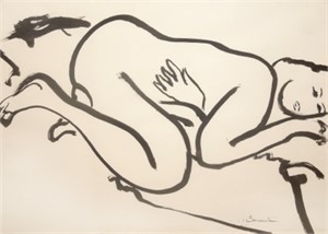 Nude Laying, c. 1960s