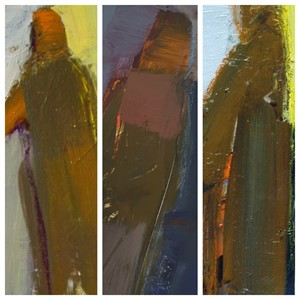 Small Figures I, II & III 7 x 5 each