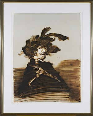 Rembrandt En Habit De Capitaine, 1988
