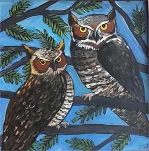 Couple of Owls, 2019