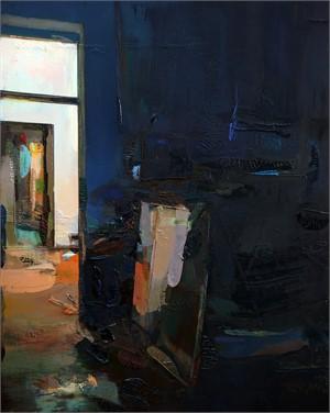 Door and Mirror (Nocturne), 2019