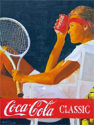 Classic Tennis by Plaid Columns