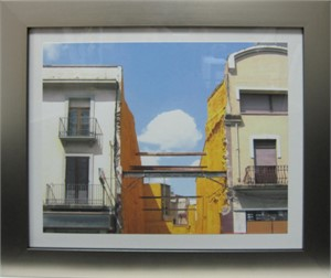 Homage to Rene Magritte-Across the Street from The Salvador Dali Museum-Kadesh, Spain, 2009