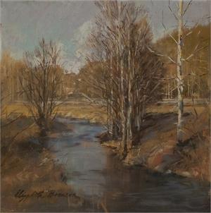 """ELIZABETH E BRONSON, """"Cold Creek"""""""