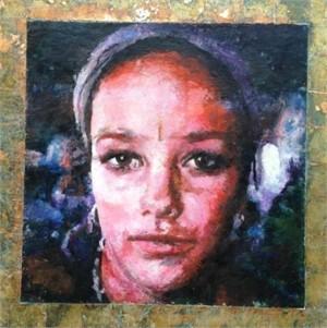 Portrait of Bonnie (Young Buddha) by Mark Gaskin