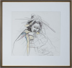 "Original sketch for ""Essence"", 1999"