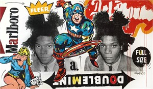 Double Mint Captain America Basquiat