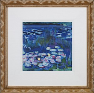 Giverny Water Lilies:  Blue, 2011