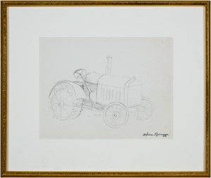 Old Tractor #781, c.1950's