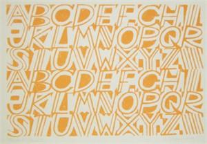 Alphabet (Orange)