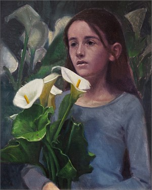 Gathering Lilies by Ocean Quigley