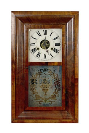 30 Hour Clock - New York, c.1860-1870