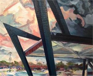 storm creeps skateland, hull street by Ed Trask