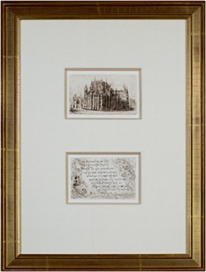 Westminster Abbey I (Sold as set of 7 etchings), 1891