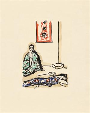 The Green Kimono -La Garconne Series- Le Kimono Vert, 2011