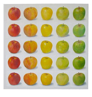 Apples Red to Green, 2017