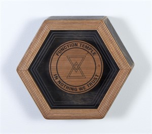 Hex Framed Temple Symbol 4