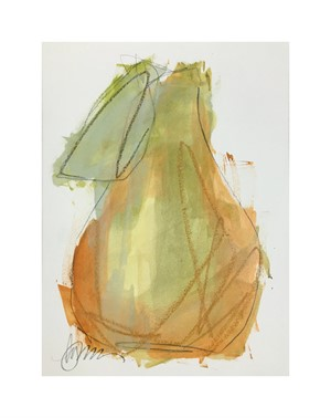 untitled (pear IV), 2018