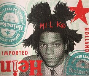 Heineken Basquiat, 2017