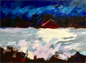 Blue Sky, Red Barn