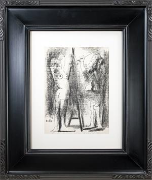 Le peintre et son modèle (The Painter and his Model) (Edition of 1000), 1964