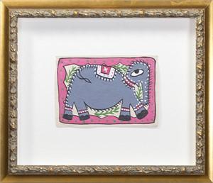 Nepal Folk Art Elephant, 2015
