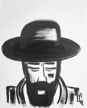 Man in Hat 411, 2020