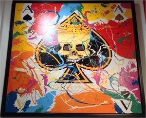 """""""Ace Of Spades Skull"""", 2019"""
